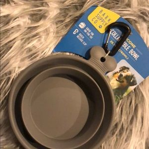 Silicone collapsible bowl dog cat chicken goat
